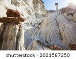 Hoodoos Formation In The Utah...