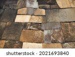 Pattern Of Old Edo Castle...
