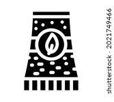bio energy plant tube glyph... | Shutterstock .eps vector #2021749466