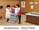 a vector illustration of boy...   Shutterstock .eps vector #202177444