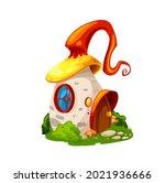 fairytale magic mushroom house  ...