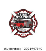 Firefighting Symbol Vector Icon ...