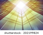 panoramic and perspective wide... | Shutterstock . vector #202199824