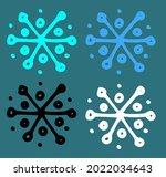 vector set of a simple... | Shutterstock .eps vector #2022034643