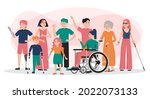 international day of persons... | Shutterstock .eps vector #2022073133