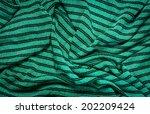 green textile pattern fabric...   Shutterstock . vector #202209424