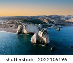 Coast Of Paphos In The Area Of...