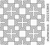 vector seamless pattern. modern ...   Shutterstock .eps vector #2022152843