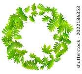 bush leaves vivid vector... | Shutterstock .eps vector #2022186353