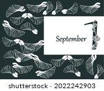 back to school  postcard... | Shutterstock .eps vector #2022242903