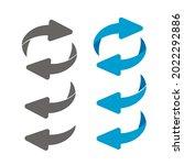 rotating  circular  cyclic...   Shutterstock .eps vector #2022292886