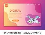 website template design. vector ...
