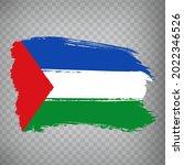flag guanacaste province  brush ...