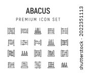 premium pack of abacus line...