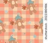 vector   abstract seamless... | Shutterstock .eps vector #2022380486