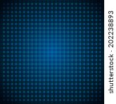 abstract futuristic grid....   Shutterstock .eps vector #202238893
