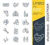 lineo editable stroke  ...   Shutterstock .eps vector #2022479309