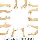 hands  | Shutterstock . vector #202250920
