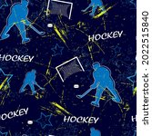 abstract seamless sport pattern ... | Shutterstock .eps vector #2022515840