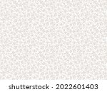 ditsies floral pattern. pretty... | Shutterstock .eps vector #2022601403