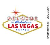vector  welcome to fabulous las