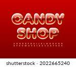 vector sweet logo candy shop.... | Shutterstock .eps vector #2022665240