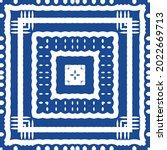 ornamental azulejo portugal... | Shutterstock .eps vector #2022669713