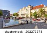 vienna  austria   april 19 ... | Shutterstock . vector #202273378