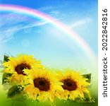 nature background with...   Shutterstock .eps vector #2022842816
