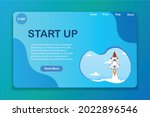 start up website template ...
