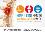 bone and joint health national... | Shutterstock .eps vector #2022909320