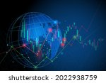 stock market investment trading ...   Shutterstock .eps vector #2022938759