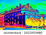 Family House In Infrared...