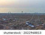 View Of Nests On Cirali Beach...