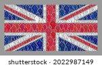 mosaic rectangle united kingdom ... | Shutterstock .eps vector #2022987149