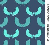 seamless pattern with ancient... | Shutterstock .eps vector #2023008296
