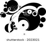 abstract circular illustration | Shutterstock .eps vector #2023021