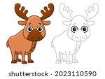 forest animal for children...   Shutterstock .eps vector #2023110590