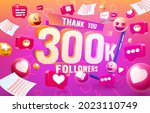 thank you followers peoples ... | Shutterstock .eps vector #2023110749