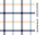 plaid pattern in blue  white ... | Shutterstock .eps vector #2023210550