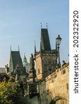 prague  czech republic  ... | Shutterstock . vector #202322920