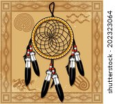 dream catchers | Shutterstock .eps vector #202323064