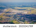 Brussel airport and Zaventem town