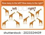 a logic game for children... | Shutterstock .eps vector #2023324439