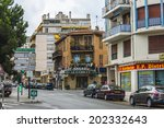 nice  france  on july 3  2011.... | Shutterstock . vector #202332643