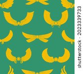 seamless pattern with ancient... | Shutterstock .eps vector #2023339733