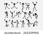 people activity  icons in... | Shutterstock .eps vector #202339900
