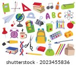 collection of vector hand drawn ...   Shutterstock .eps vector #2023455836