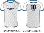 sports jersey t shirt design... | Shutterstock .eps vector #2023483076