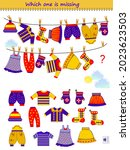 logic puzzle game for children... | Shutterstock .eps vector #2023623503